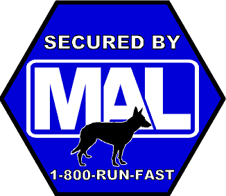 Secured By MAL Sticker