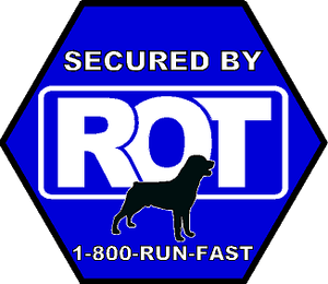 Secured By ROT Sticker