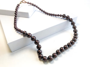 String of Beads Necklace