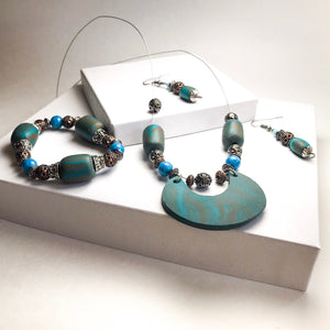 Chunky Boho Jewelry set