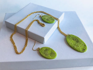 Lime Legacy Necklace set
