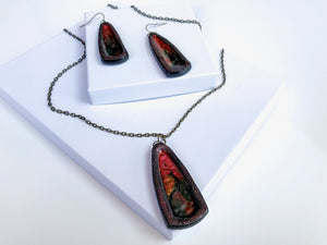 Boho Blaze Necklace Set