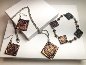Bohemian Metallics Jewelry set