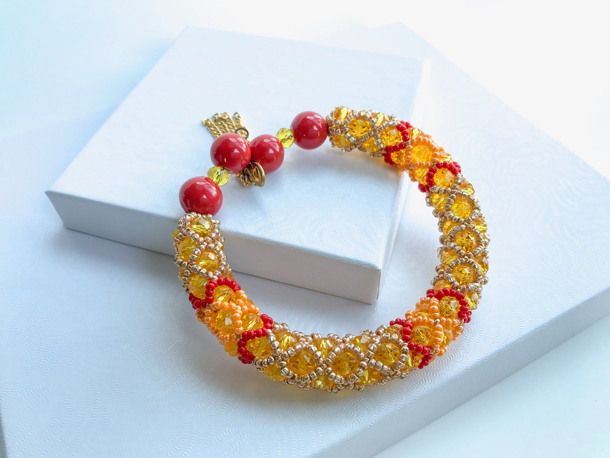 Summer Shades Beaded Bracelet