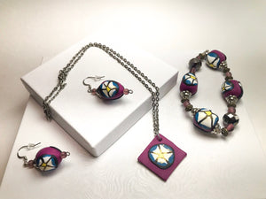 Pretty in Purple Jewelry set