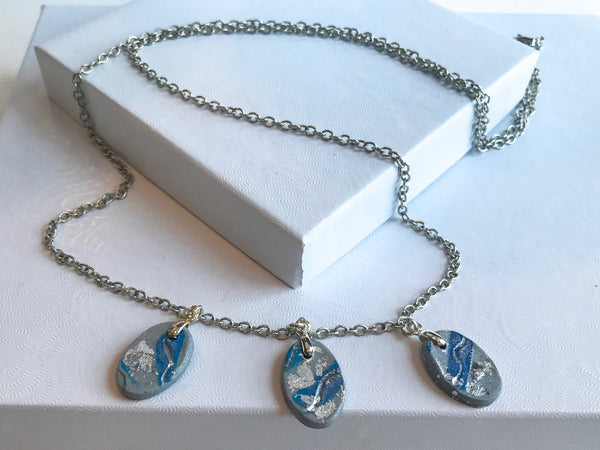 Ocean Waves Necklace set