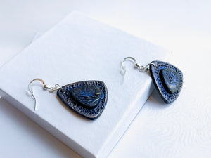 Boho Blue Earrings