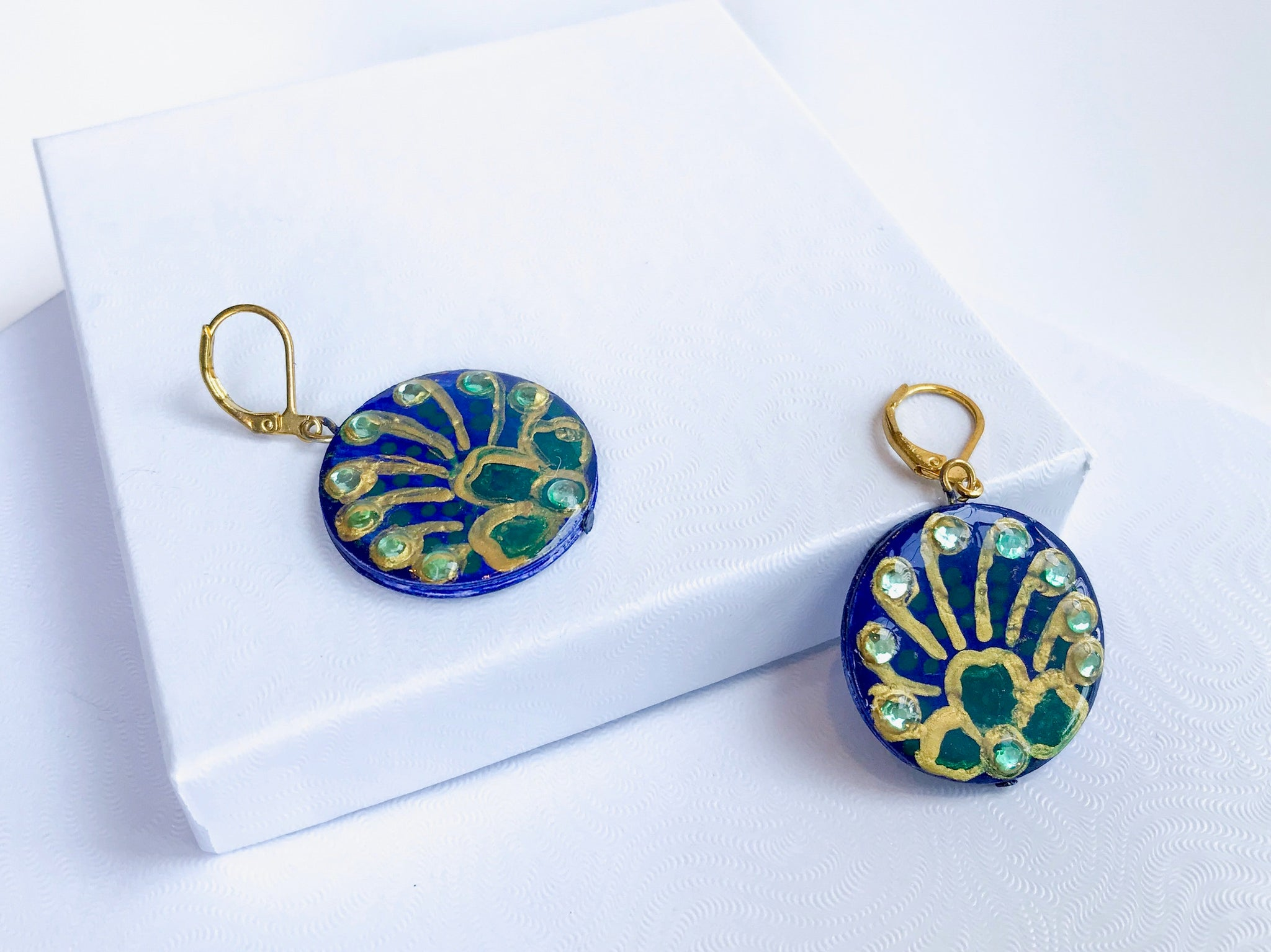 Peacock Pair Earrings