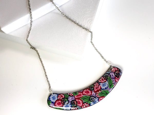 Spring Blooms Pendant Necklace