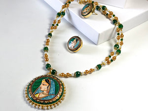 Tanjore Necklace Set