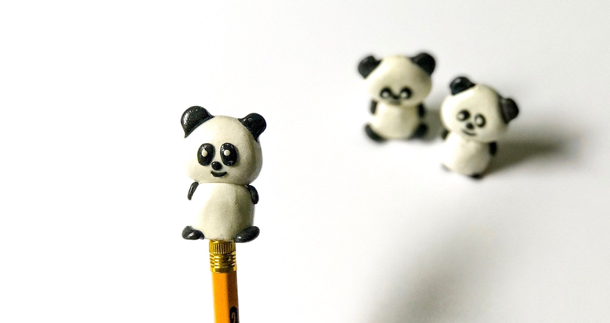 Cartoon Character Pencil/Pen Caps