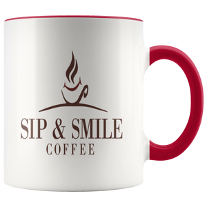 Sip & Smile Coffee Mug - Sip & Smile Coffee