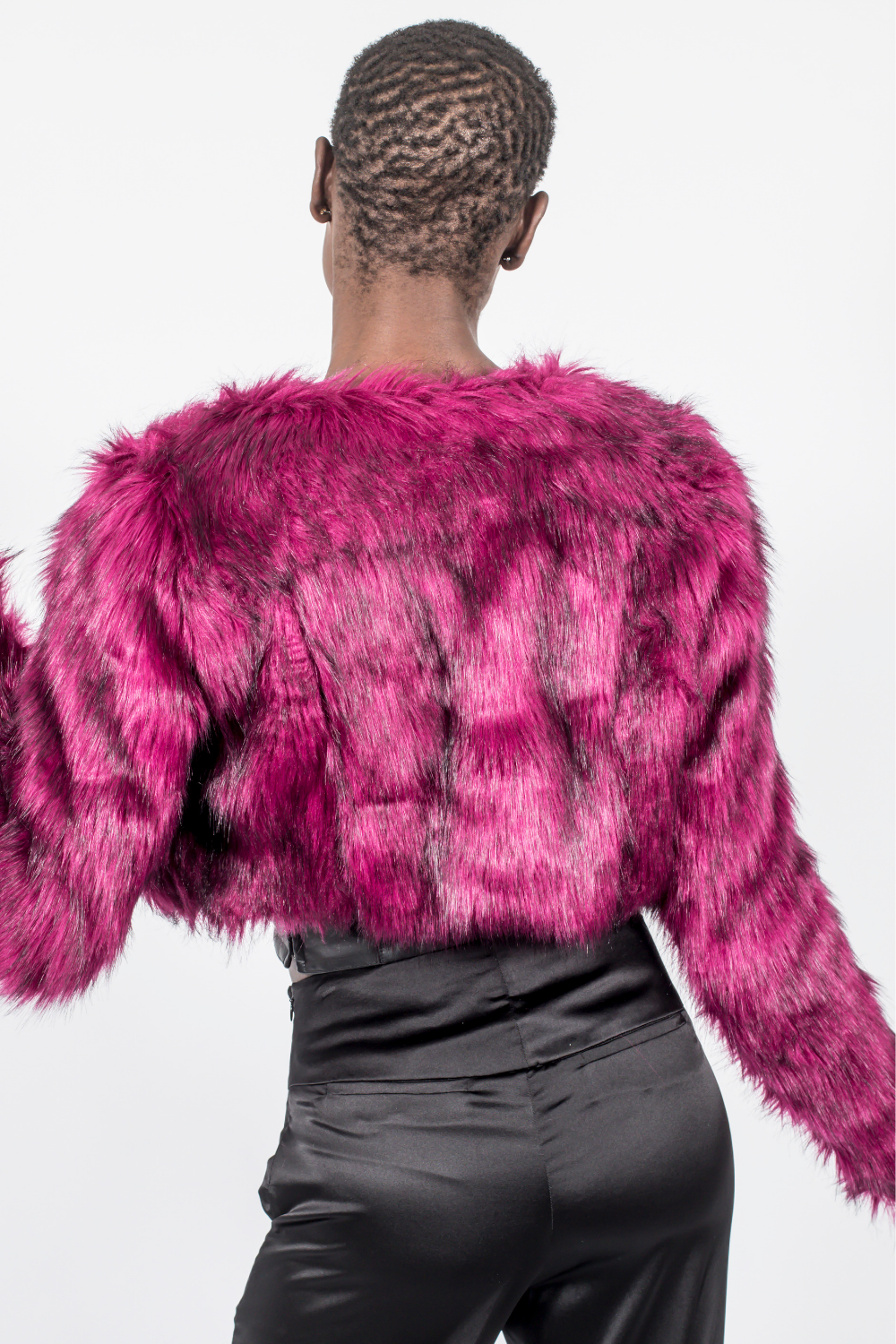 Faux Fur - Burgundy