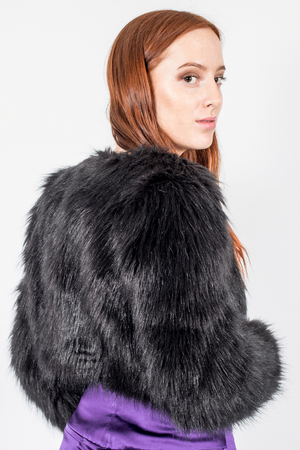 Faux Fur Black