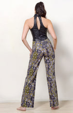 Wide Leg Pants, Dancing Spirit Print