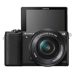 Sony a5100 16-50mm Mirrorless Digital Camera with 3-Inch Flip Up LCD (Black)
