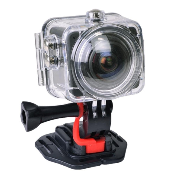 360 Panoramic 1080P Action Camera W/12Mp Photo 1.5Lcd & Waterproof Housing