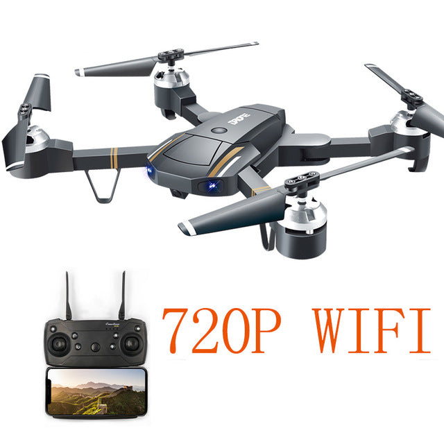E58 WIFI Wide Angle FPV GD88 Drone With Foldable Arms