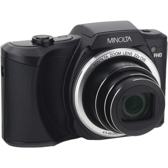 Minolta 20.0-Megapixel 1080P Full Hd Wi-Fi Digital Camera With 22X Zoom