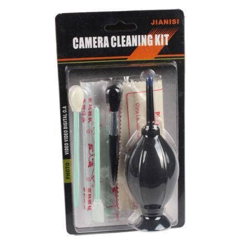 6 in1 Cleaning Cleaner Kit for Canon Nikon Camera Lens & Sensor, Go Camera Geek
