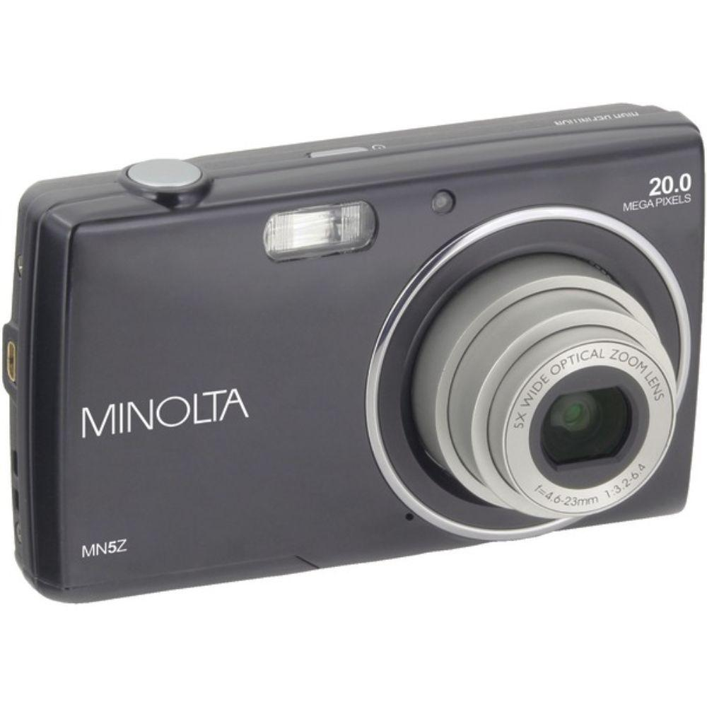 20.0-Megapixel MN5Z HD Digital Camera with 5x Zoom