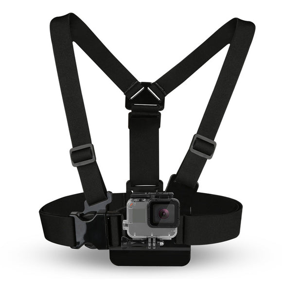 Adjustable Chest Strap Belt Mount Kit Tripod