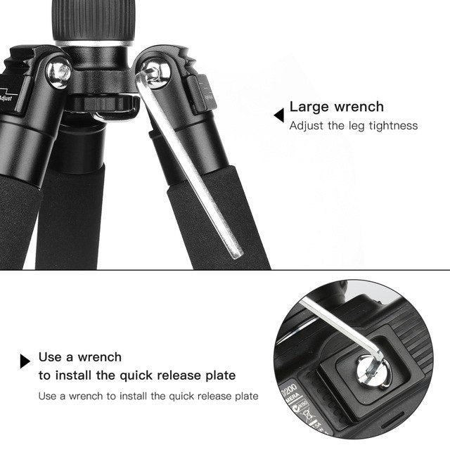Lightweight Mini Camera Tripod Compact