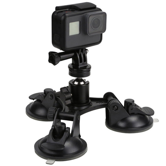 Low Angle Go Pro Suction Cup Mount with