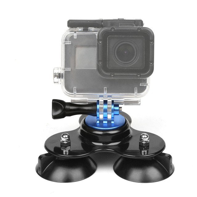 Low Angle Surfboard Suction Cup Tripod Mount