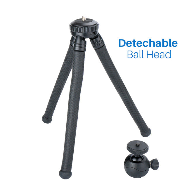 Mini Tripod Flexible Phone/DSLR Tripod