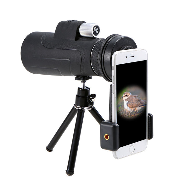 Photography Monocular Telescope with Smartphone Mount Adapter