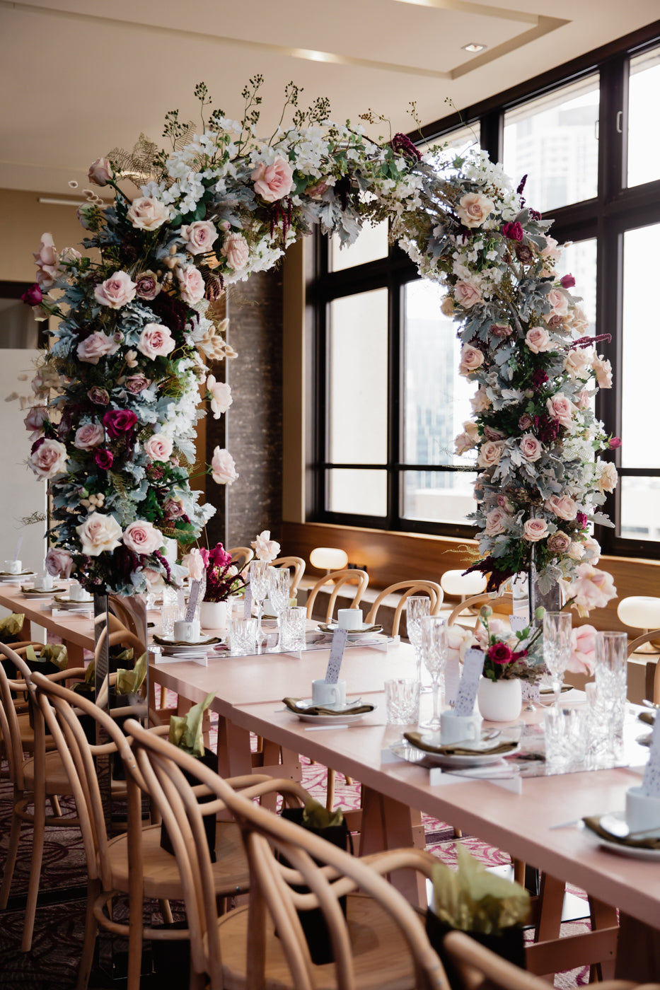 september-creative-perfect-party-co-floral-arch-high-tea-sofitel-brisbane