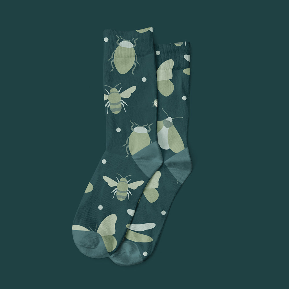 September Creative Jericho Road Entomologist Socks