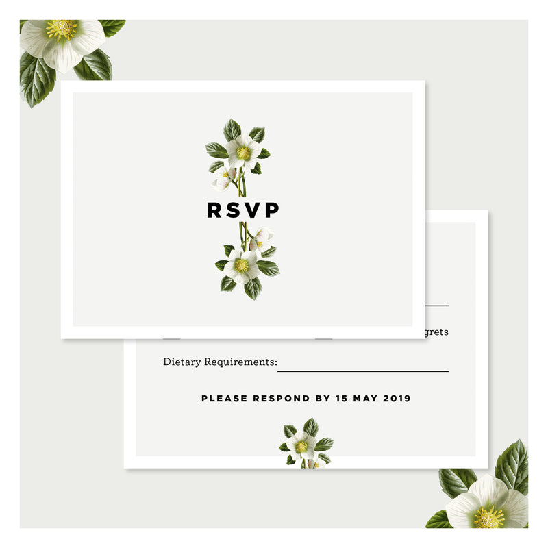 Misty Sage • RSVP with Envelope
