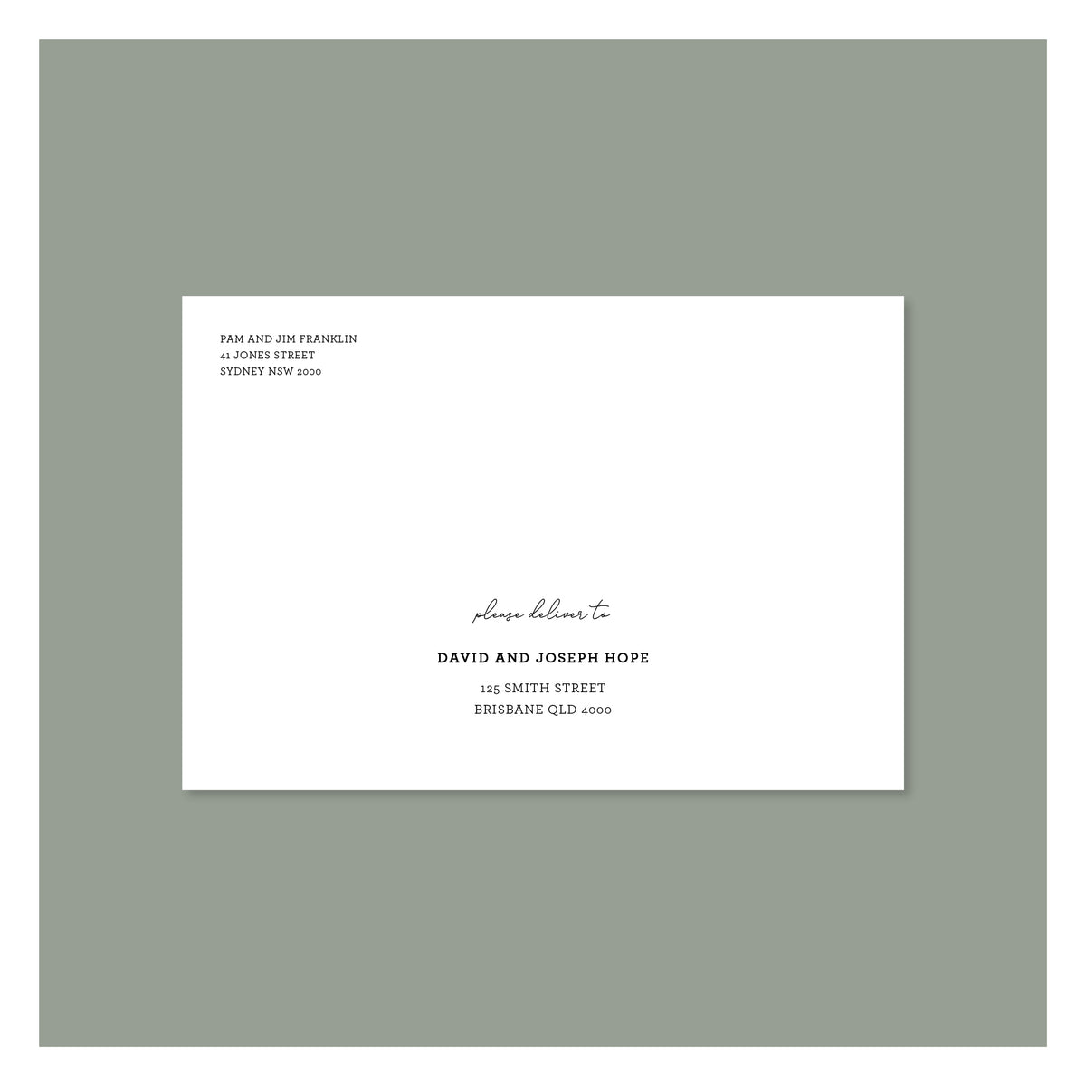 Envelope Printing - Oregon - Colour