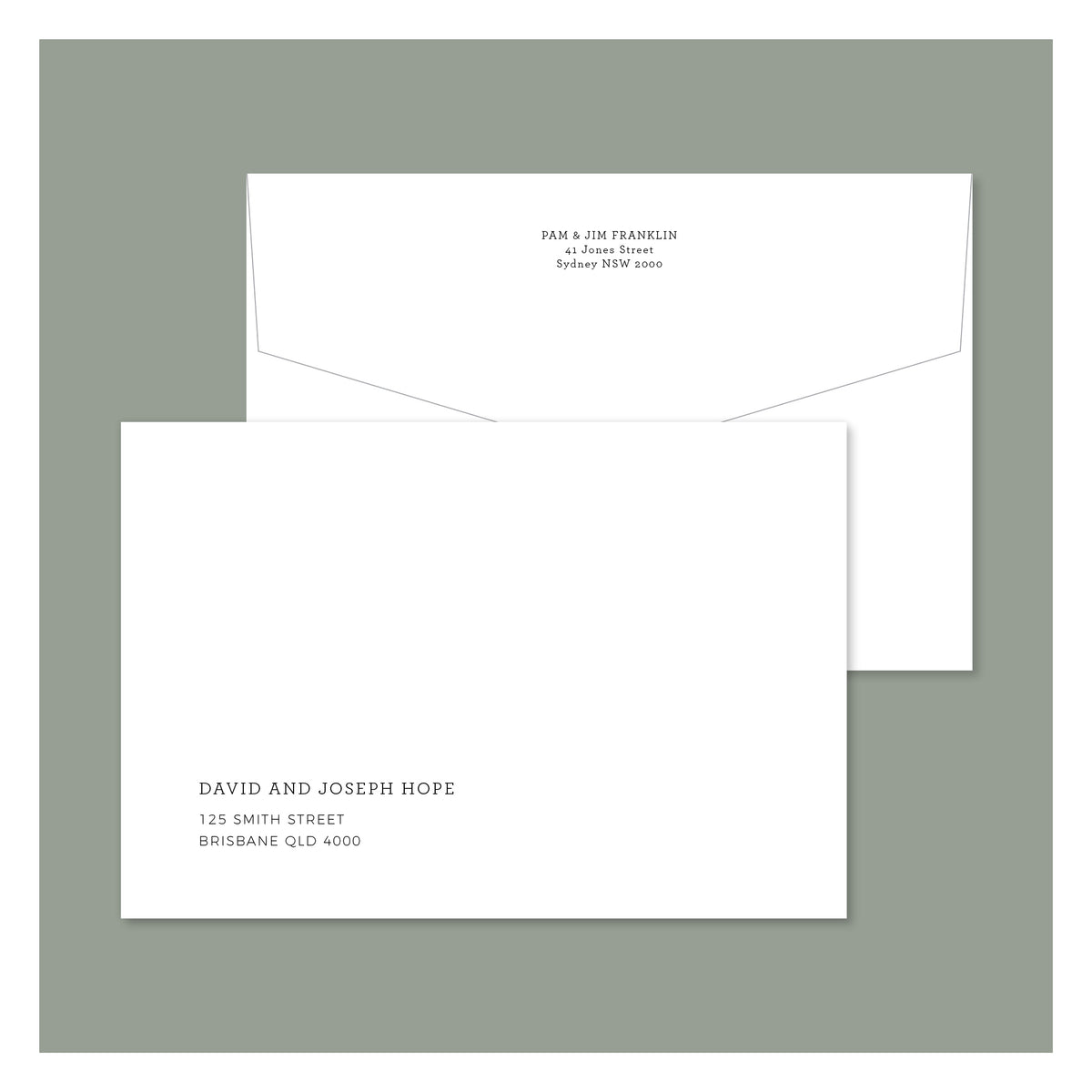 Envelope Printing - New York - Colour