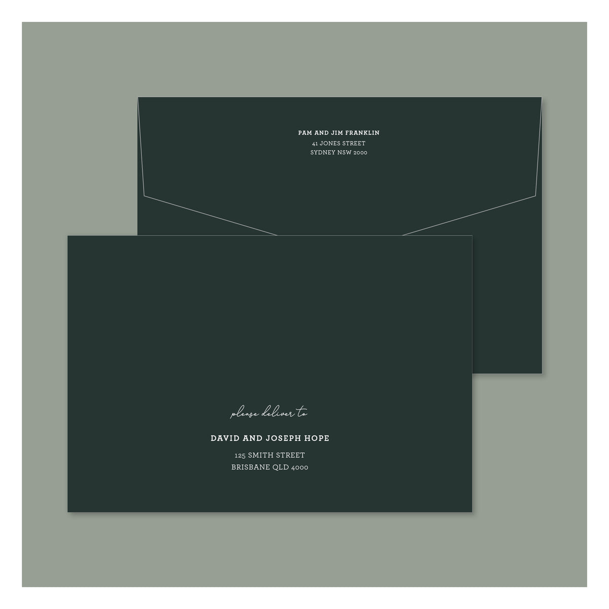 Envelope Printing - Oregon - White Ink