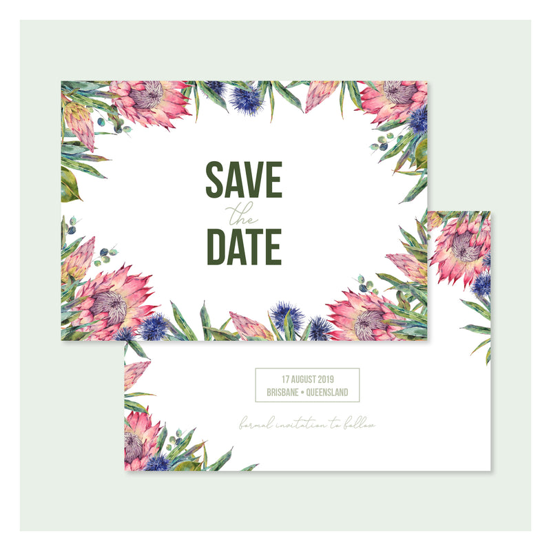 Aussie Botanical • Save the Date