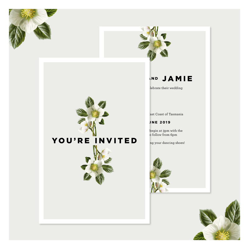 Misty Sage • Wedding Invitation