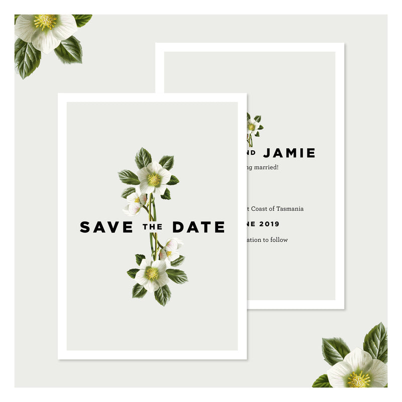 Misty Sage • Save the Date