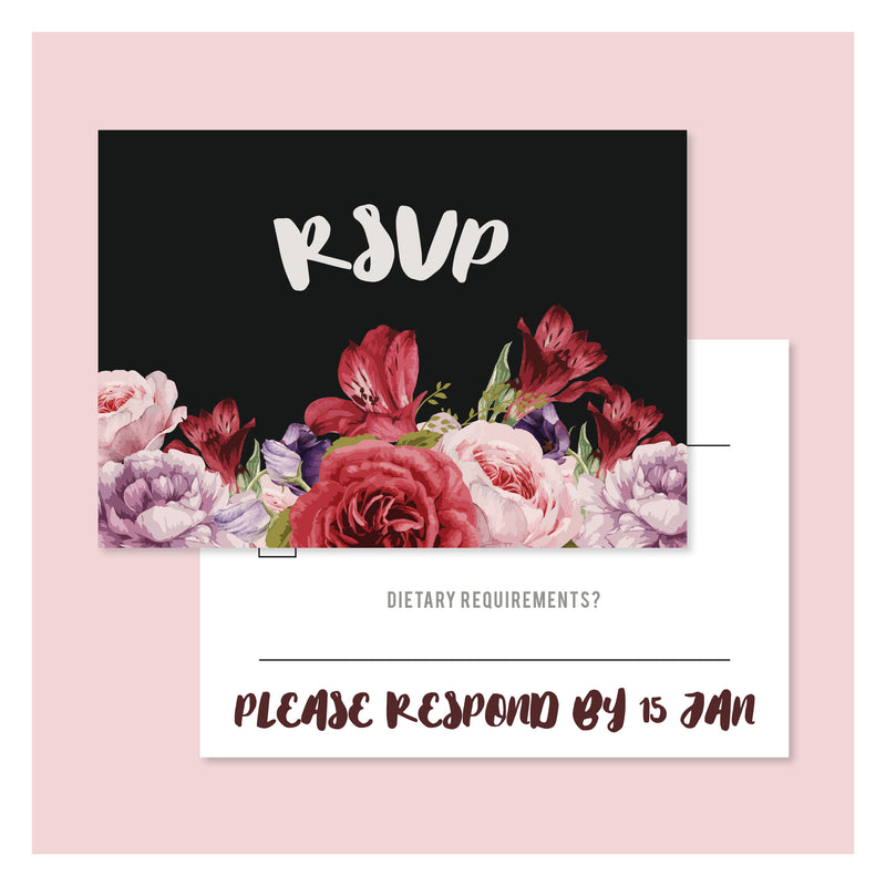 Til Death • RSVP with Envelope