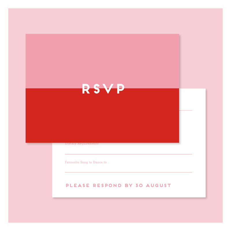 Wild Flowers • RSVP with Envelope