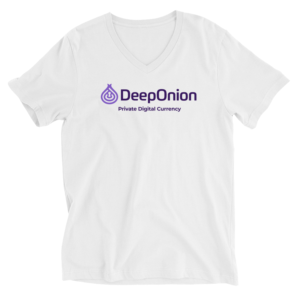 DeepOnion Short Sleeve V-Neck T-Shirt