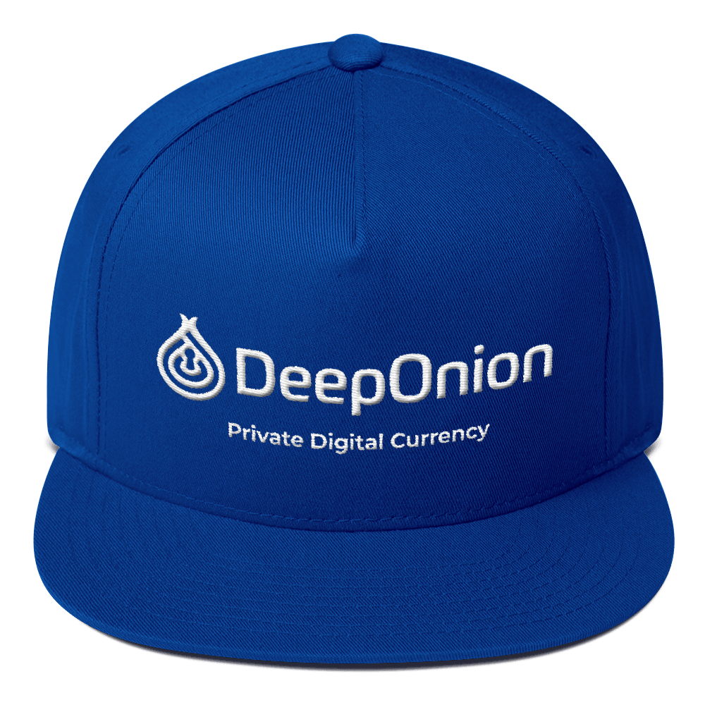 DeepOnion Flat Bill Cap