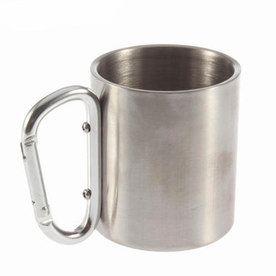 Steel Camping Cup with hook