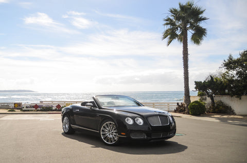 Black Bentley V8