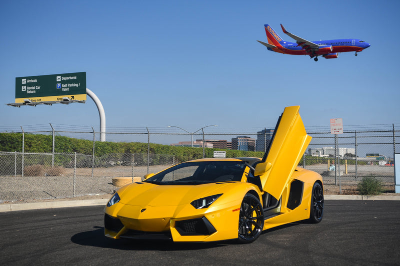 Yellow LP700 Airport