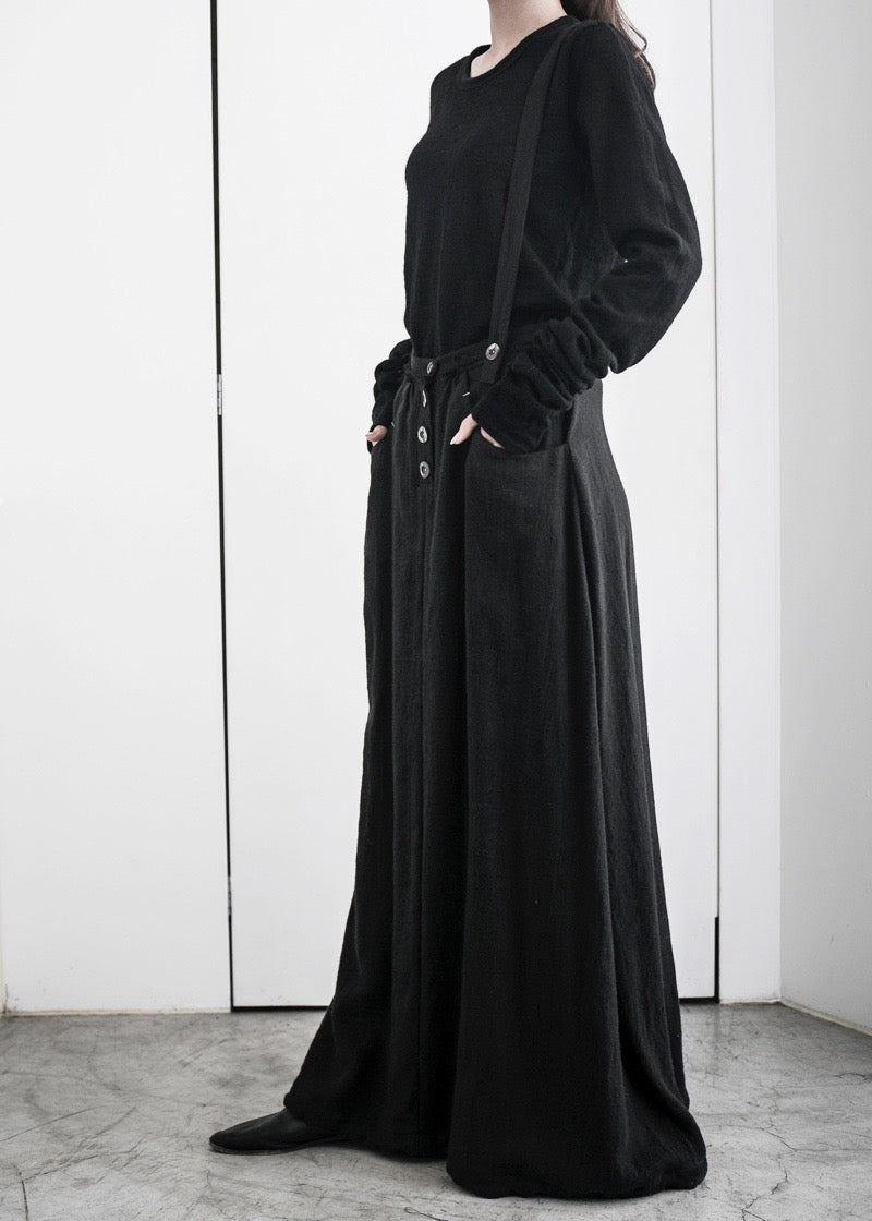 ONE SHOULDER LONG SKIRT