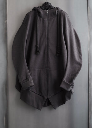 CIRCLE ZIP UP HOODIE