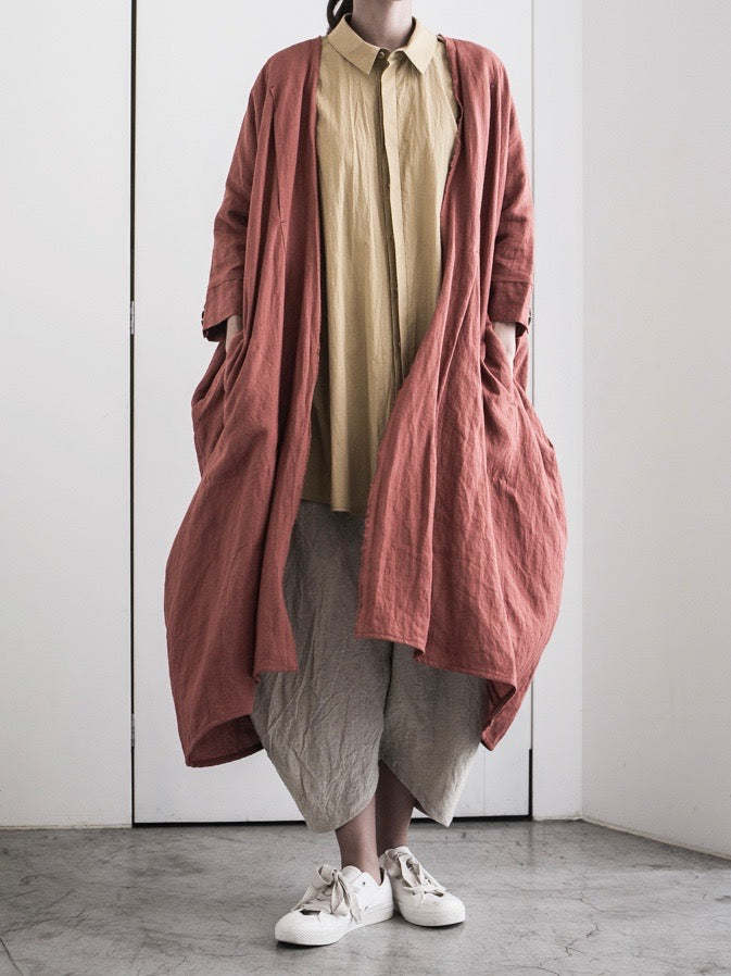 LINEN KOSODE COAT Ⅱ